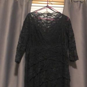 Lace and beaded dress